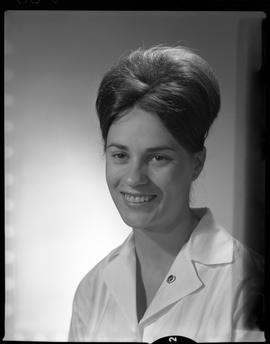 Perkins, Valery (Val), Medical Lab, Staff portraits 1965-1967 (E) [3 of 5 photographs]