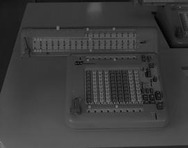 Business Technology; adding machine, math department