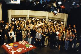 Broadcast reunion, group photograph, spring 2000