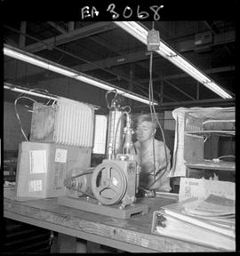 BC Vocational School image of a student working on equipment in the Appliance Servicing program [...