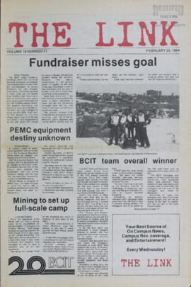 The Link Newspaper 1984-02-22