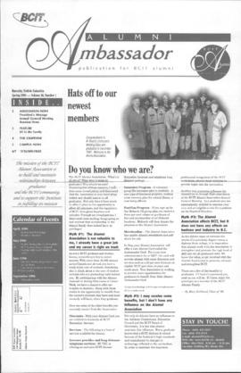 BCIT Alumni Association Newsletter 1998 Spring Alumni Ambassador