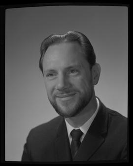 Collier, Keith, Building Technology, Staff portraits 1965-1967 (E) [1 of 4]
