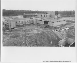 Library Building Construction, ca. 1967
