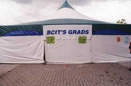 Jackie Azar - BCIT Grads tent at the 1994 BCIT Open House