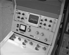 British Columbia Institute of Technology Broadcasting ; 1960s ; control panel for a video monitor