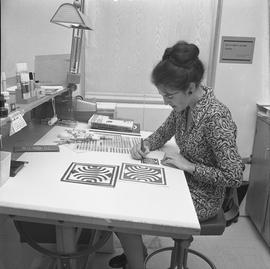 BCVS Graphic arts ; woman painting [4 of 4]