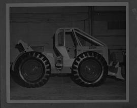 BCIT Forestry; picture of a Clarke skidder