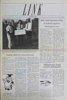 The Link Newspaper 1989-10-11