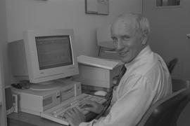 BCIT School of Health staff member, 1995; John Emes