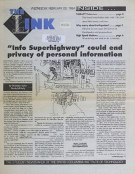 The Link Newspaper 1994-02-23