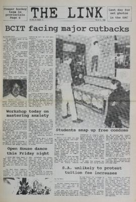 The Link Newspaper 1988-03-02