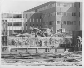 British Columbia Institute of Technology - Early Building Construction - 1966? - facing NNE