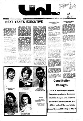 The Link Newspaper 1976-04-27