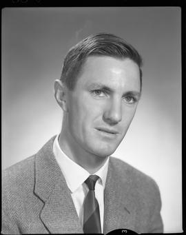 McLeod, Don, Chemistry and Metallurgy, Staff portraits 1965-1967 (E) [1 of 4 photographs]