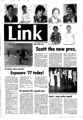 The Link Newspaper 1977-04-20