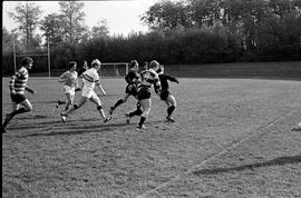 BCIT's Cougar Rugby sports team playing a game on the BCIT sports field. BCIT Recreation [1 of 11...