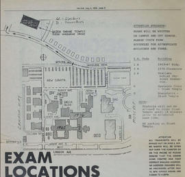 Campus Map from the Link Student Newspaper, May 2, 1979