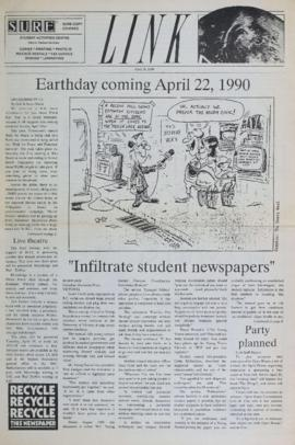 The Link Newspaper 1990-04-18