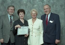BCIT Staff Recognition Awards, 1996 ; Judy Lien, 15 years [1 of 2]