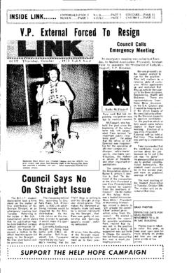 The Link Newspaper 1973-10-25