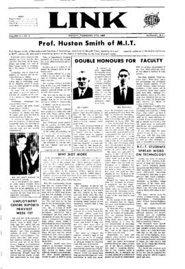 The Link Newspaper 1968-02-05