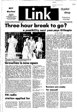 The Link Newspaper 1978-11-01
