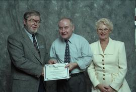 BCIT Staff Recognition Awards, 1996 ; John Porteous