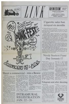 The Link Newspaper 1990-01-10
