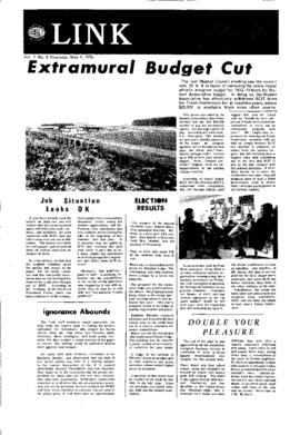 The Link Newspaper 1972-05-04