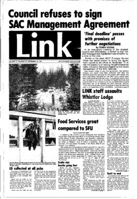 The Link Newspaper 1977-11-23