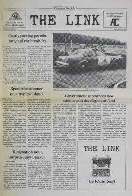 The Link Newspaper 1988-09-21