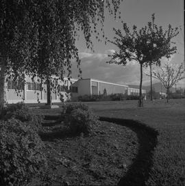 British Columbia Vocational School, Kelowna campus, 1971; building and landscape [3 of 3]