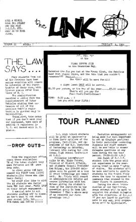 The Link Newspaper 1966-02-04