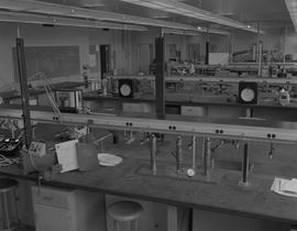 Instrumentation, 1966; a classroom with instrumentation equipment [2 of 4]