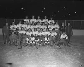 BCIT hockey team, 1971-1972