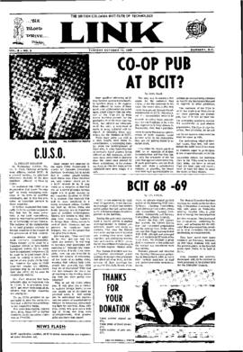 The Link Newspaper 1968-10-15