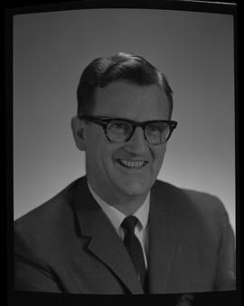 Kerr, Rod, Forestry, Staff portraits 1965-1967 (E) [1 of 5 photographs]