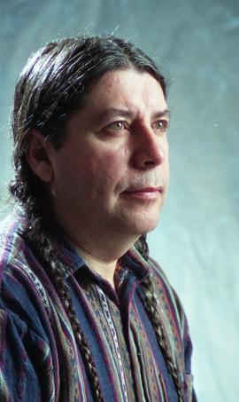 First Nations staff portraits, unnamed male 5 [6 of 6 photographs]