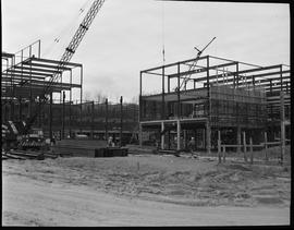 1960's Early construction of BCIT campus and buildings [2 of 21 photographs]