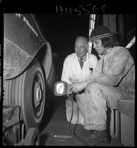 B.C. Vocational School image of an Instructor and an Automotive Mechanics program student working...