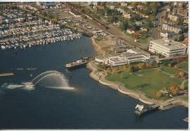 British Columbia Institute of Technology - Aerial photograph of BCIT's Marine Campus - formerly P...