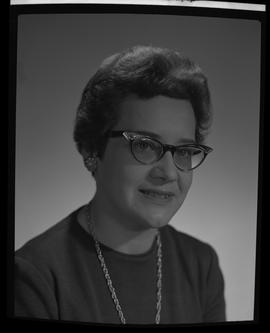 Brown, Doreen, Medical Lab, BCIT, Staff portraits 1965-1967 (E) [1 of 4]