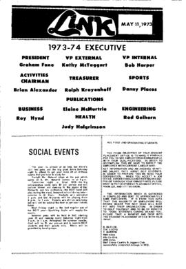 The Link Newspaper 1973-05-11