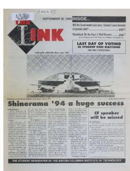 The Link Newspaper 1994-09-28
