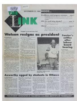 The Link Newspaper 1994-11-23