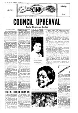 The Link Newspaper 1967-10-23