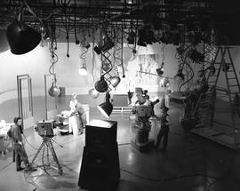 BCIT Broadcast and Television, 1964; television studio [3 of 3]