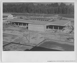 Construction photograph of BCIT on September 6, 1963. Food Training Centre, FTC under constructio...