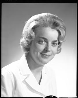 Devette, Jane, Medical Lab, Staff portraits 1965-1967 (E) [1 of 5 photographs]